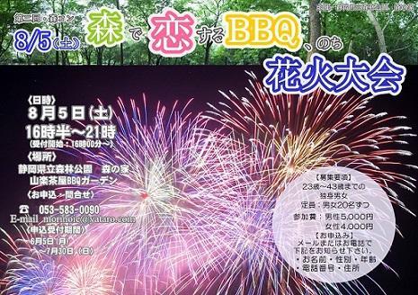 第2回森コン「森で恋するBBQ、のち花火大会」