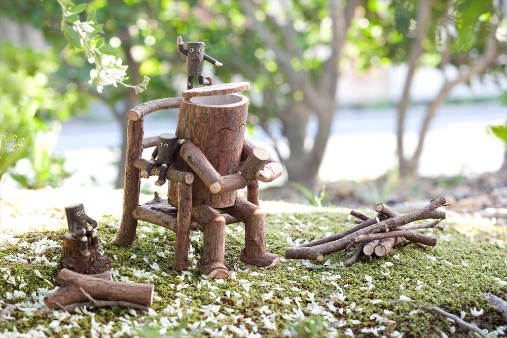 向山 寛 「そのまま 自然の木人形展」 開催のご案内