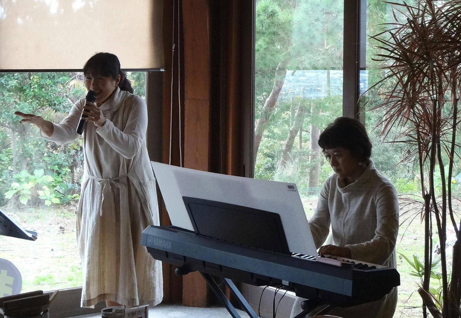 静岡県立森林公園アカマツの森のうたお披露目ライブ開催!!