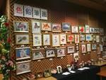 ギャラリーで色鉛筆画展!!
