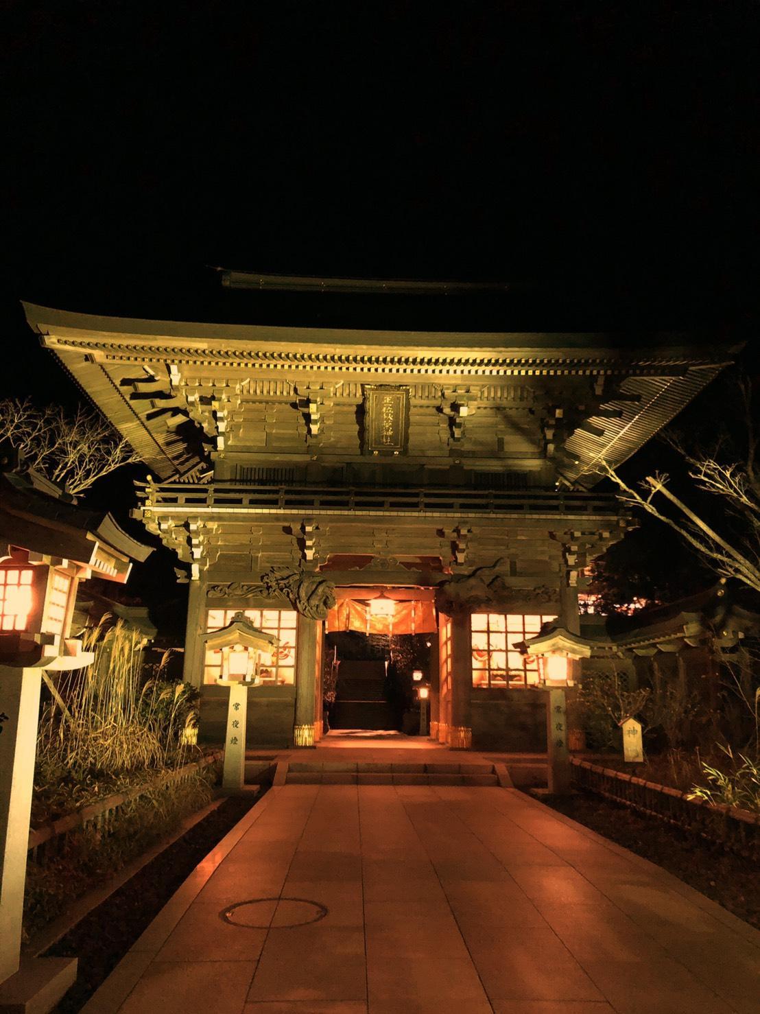 秋葉神社の火祭りに行ってきました!!