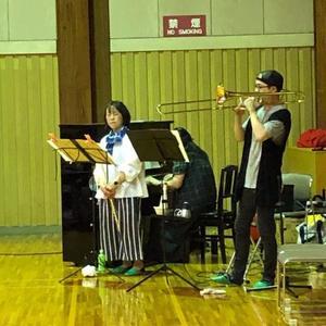 写真:森の音楽会のお知らせ