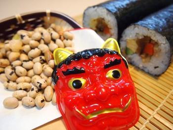 写真:日本文化②節分