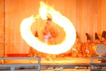 写真:【プレミアム体験】秋葉山本宮秋葉神社火祭り見学