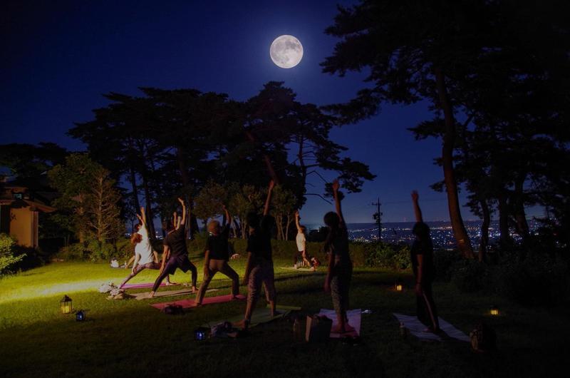 写真:満月よが(8月Sturgeon Moon)