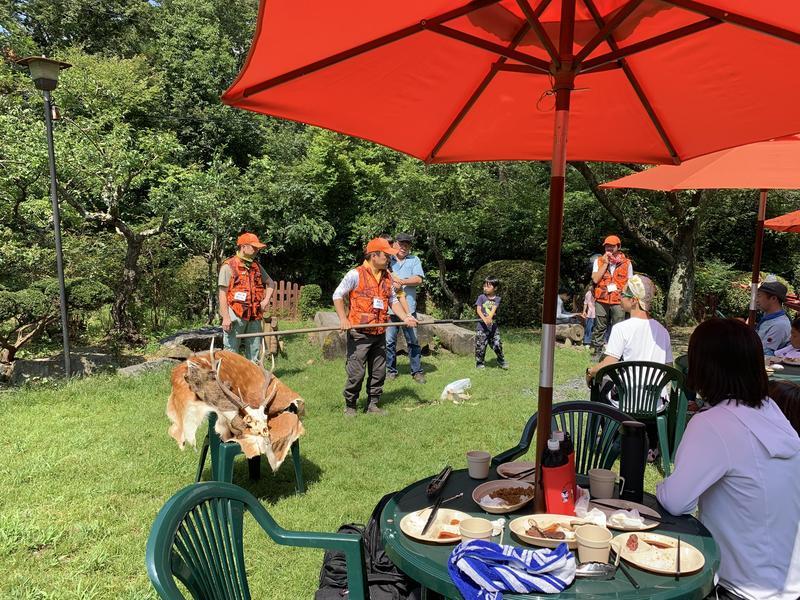 写真: 見て!聞いて!食べて!猟師と楽しむジビエBBQ