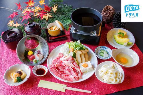 写真:【1泊2食付】松茸と三ケ日牛のすき焼きプラン